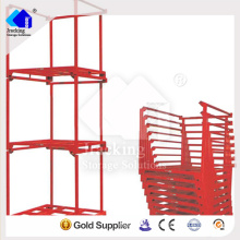 China-goldenes Gestelllieferungslager-Reifenstapelgestellsystem