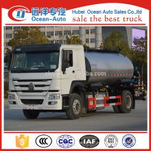 NEW howo marca 10cubic metros inteligente caminhão distribuidor asfalto com máquina meia inteligente para venda