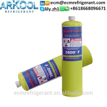 Hot sale with DOT CE license 16OZ Mapp gas mapp torch used for welding