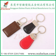 Nice Decorative Metal Leather Keychain for Sale