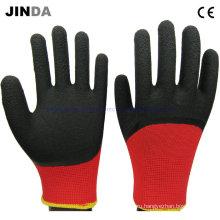 Латексные пены с покрытием Механич PPE рабочие перчатки (LH308)