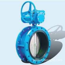 Worm Flange Butterfly Valve (D341)
