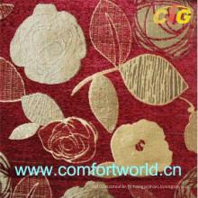 Tissu de canapé Chenille Jacquard (SHSF04198)