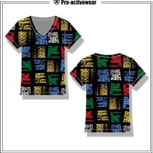Kundenspezifisches persönliches Entwurfs-preiswertes Frauen-T-Shirt für Frauen
