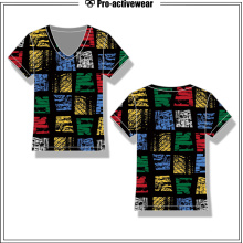 Personalizado de diseño personal camiseta barata para las mujeres