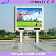 Panneau polychrome de signe de LED de Cabinet de fer de 6mm pour la publicité