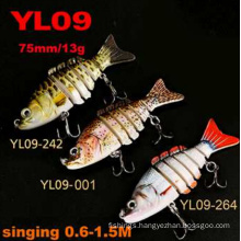 Singing 0.6-1.5m Hard Fishing Lure