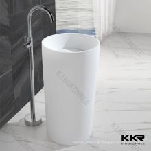 free standing basin stone pedestal sink, sanitary ware pedestal basin, stone pedestal sink