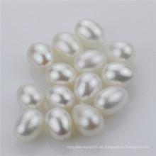 Snh weiße Art und Weise Tropfen lose Perlen Großverkauf