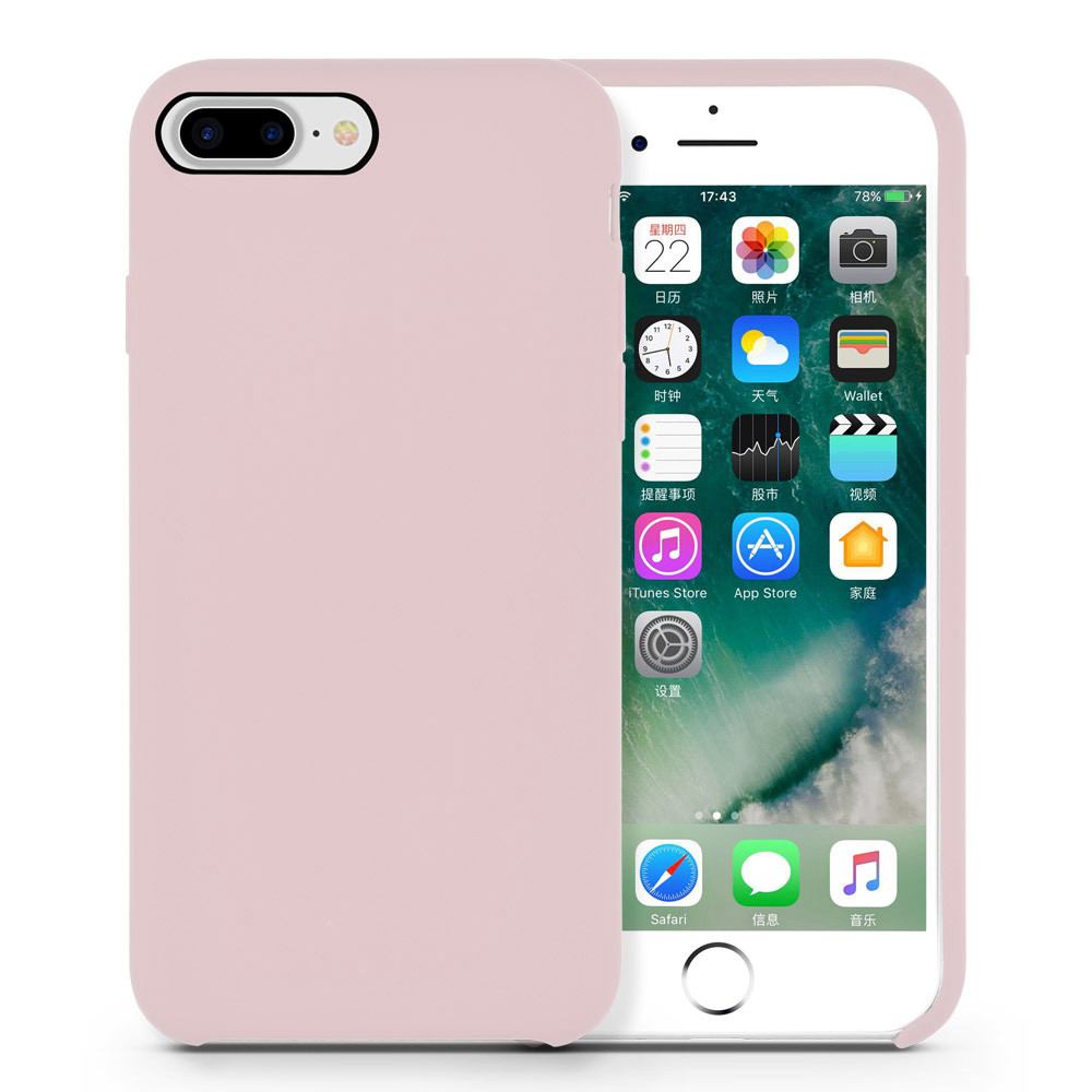 Fashionable Silicone Rubber Case for iPhone8