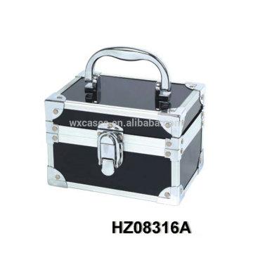 Caso de beleza fashionale alumínio com seleções de cores multi fabricante HZ08316A