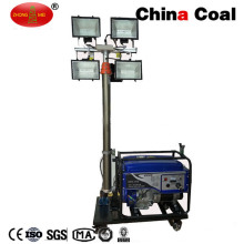 Tour d'éclairage mobile extérieure de générateur d'essence LED