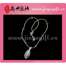 Guangzhou Handcraft Agate Bead Cultural Costume Pearls Necklace