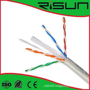 CAT6 U/UTP Solid Riser Cmr Indoor/Outdoor Cable, 1000 FT Pull Box