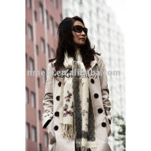 lady's winter D.K printed woolen scarf