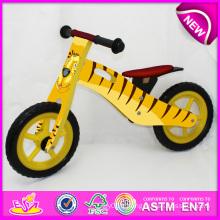 Vente chaude de haute qualité en bois de vélo, vélo en bois populaire Balance, nouvelle mode enfants Bike Factory W16c076