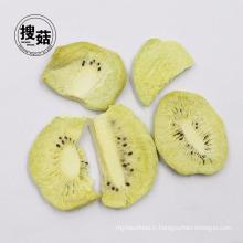 Croustilles de fruits de Kiwi de vendeur d'or exportateur FD Fruits de Chine