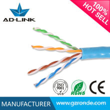 Unshield Twisted Pair Cat5 Cabo LAN / Superfície plana