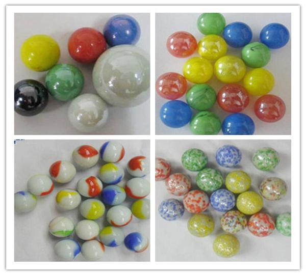 Glass marbles for Children