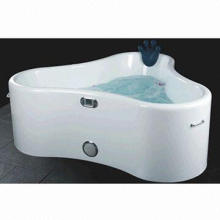 Bathtub, Includes Drainer and Water Outlet