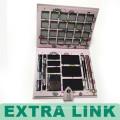Marcos cuadrados de papel de Fashional Eye Shadow Box al por mayor con el botón del metal