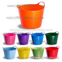 PE Tub,flexible tub,garden tub,colorful tub