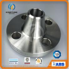 Reborde forjado Rtj del reborde del Wn del acero inoxidable de ASME B16.5 (KT0307)