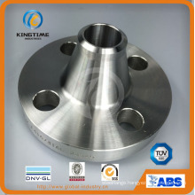 ASME B16.5 Stainless Steel Wn Flange Rtj Forged Flange (KT0307)