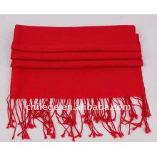 Wolle einfarbige Schals pashmina