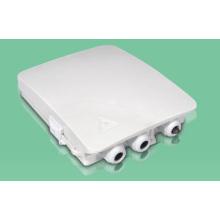 Caja de terminales FTTX / caja de distribución de fibra óptica 8 puertos