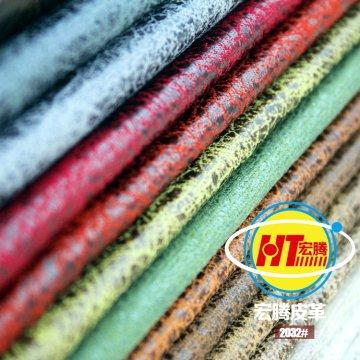 Piel de PVC transpirable con nuevo diseño y respaldo de sofá (Hongjiu-2032 #)