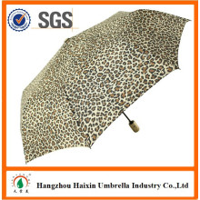 Leopard Design Animal parapluie automatique