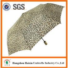 Leopard Design Animal Umbrella Automatic