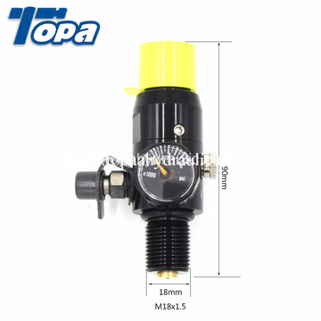 Paintball Co2 & Compress Air Regulator 0-200psi