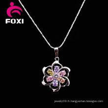Guangxi Wuzhou Flower Necklace Bon prix