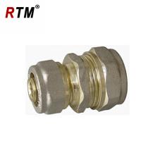 mamelon de réduction en laiton pour raccords de compression de mamelon en laiton à tuyau multicouche pour raccords de tuyauterie multicouches