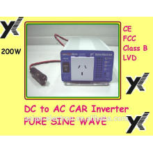Incomparable calidad 12VDC 200W inversor 115VAC 60Hz