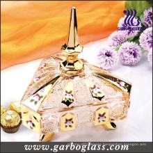 Golden Glass Candy Jar (GB1801P/DT)