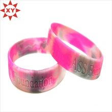 2015 Custom Soft Promotion Personalized Silicone Wristband (XY-MXL72902)