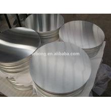 1050 disques en aluminium avec tickness 1mm 1.2mm 1.5mm etc