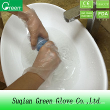 Clear Cheap Household Stretch Poly Glove