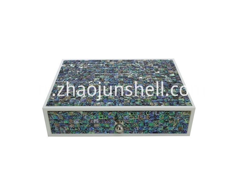 paua shell amenity box