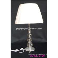 2016 Lámpara de mesa de cristal de madera moderna / luz