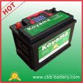 2015 Car Battery Auto Vehicle Battery DIN66-Mf- 66ah 12V