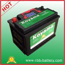 2015 Auto Batterie Auto Fahrzeug Batterie DIN66-Mf-66ah 12 V