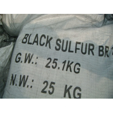 Черный (крашение текстиля) серы