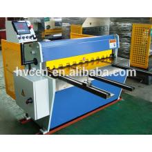 Cizalla de chapa manual qh11d-2.5 * 2500 / cizalla pequeña placa / cortadora de aluminio