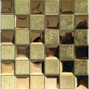 GOLDEN GLASS MOSAIC