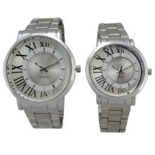 Reloj de acero inoxidable Hl-Bg-080 de la nueva manera del cuarzo del estilo