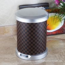Dustbin de capteur aotomatique à grille ronde pour maison / hôtel / bureau (C-9LB)
